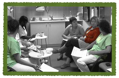 La collaboration avec les équipes soignantes