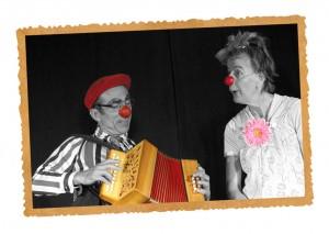 La musique fait partie des programmes Clown d'Accompagnement
